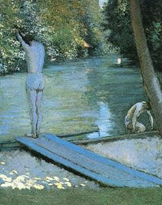 Bather Preparing to Dive, Banks of the Yerres