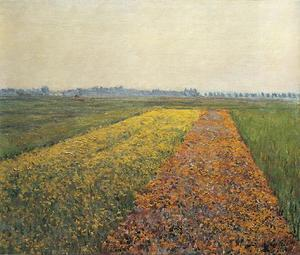 The Yellow Fields at Gennevilliers