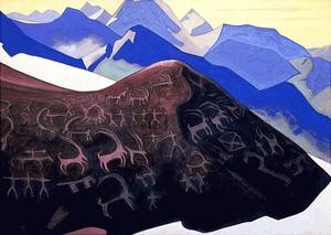 Rocks of Lahul 1935