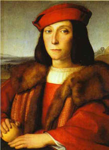 Portrait of a Man with an Apple