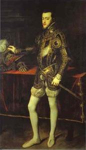 Portrait of Philip II in Armor