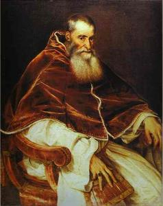 Portrait of Pope Paul III without a Cap