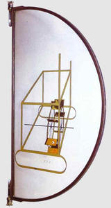 Glider Containing Water Mill in Neighboring Metals