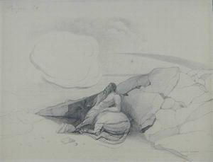 Kentaur, eine Wolke betrachtend