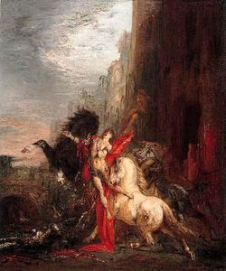 Diomedes devorado por sus caballos (Diomedes devoured by his horses)