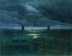 Seashore by Moonlight