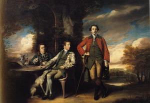 Henri Fane with His Guardians
