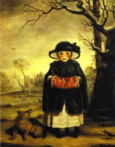 Lady Caroline Scott as Winter
