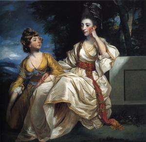 Mrs Henry Thrale with Her Daughter