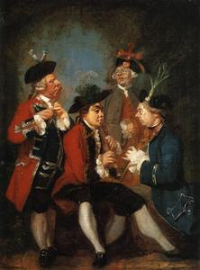 Sir Thomas Kennedy, James Caulfeild, Mr. Ward and Mr. Phelps