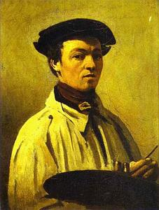 Self-Portrait with Palette in Hand
