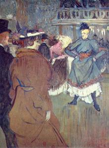 At the Moulin Rouge, The Beginning of the Quadrille