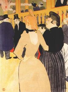 Au Moulin Rouge (La Goulue et la Môme Fromage)