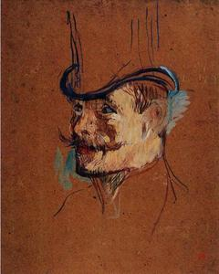 William Warrener (Study for The Englishman at the Moulin Rouge)