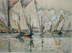 Departure of Three-Masted Boats at Croix-de-Vie