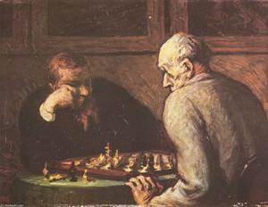 Les Joueurs d'échecs (The chess players)