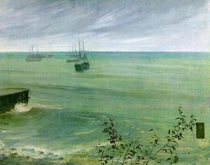 Symphony in Grey and Green, The Ocean
