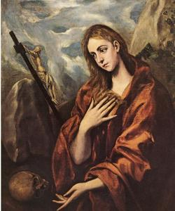 Mary Magdalen in Penitence with the Crucifix
