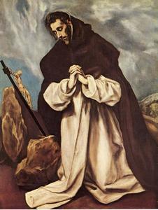 St. Dominic in Prayer
