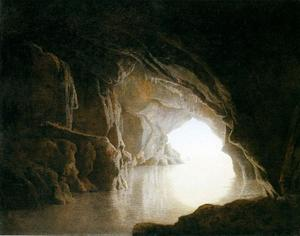 A Cavern, Evening