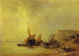 Boats by the Shores of Normandy