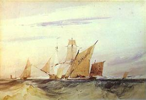 Shipping Off the Coast of Kent