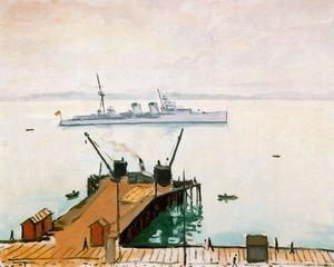 The port of Santander