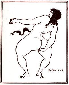 Bathyllus taking the pose