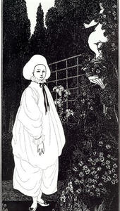 Frontispiece to 'The Pierrot of the Minute