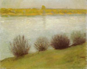 The Rhine near Hersel