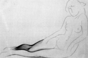 Muchacha desnuda