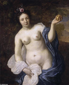 Venus with an apple