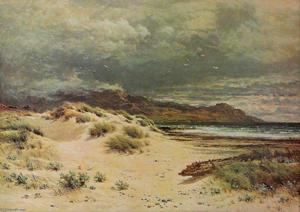 THE SANDY MARGIN OF THE BEACH