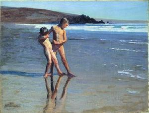 Boys at the beach 1