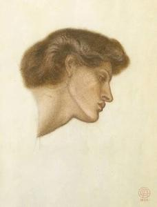 Dante's Dream at the Time of the Death of Beatrice - study