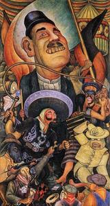 Carnival of Mexican Life. Dictatorship