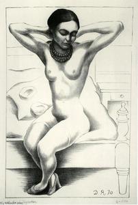 Nude With Beads (Frida Kahlo) 1