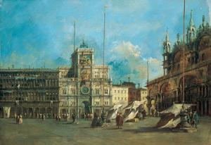St. Mark's Square in Venice with the Clocktower