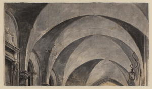 Studies of arches (verso)