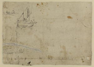 Studies of ships (verso)