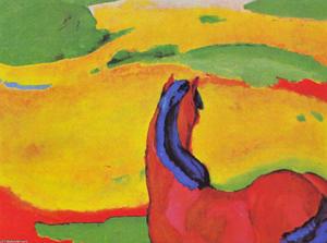 Horse in a Landscape (Pferd in Landschaft)