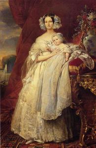 Helena louise elizabeth delaware Mecklembourg De schwerin , Duquesa D'Orleans enestado Príncipe luis felipe Albert D'Orleans , conde de parís