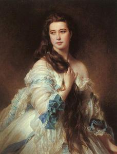 retrato de señora Barbe delaware Rimsky-Korsakov