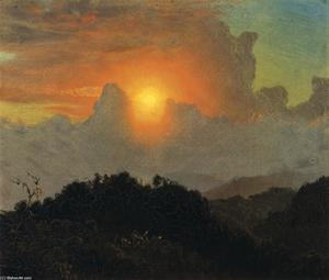 Cloudy Skies, Sunset, Jamaica
