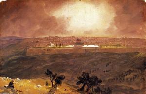 Jerusalem from the Mount of Olives 1