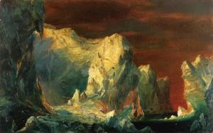 Study for 'The Icebergs'