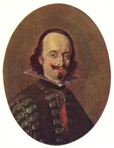Portret van Don Caspar de Bracamonte y Guzman