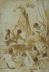 Souls in Purgatory Supplicating the Madonna of Loreto