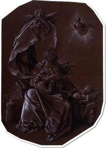 The Virgin and Child and the Dove of the Holy Spirit