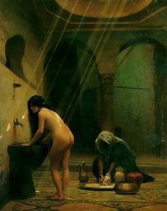 Un Bain Maure - Femme Turque au Bain, No.2
